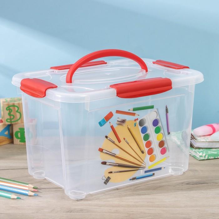 Короб для хранения econova Детское творчество, 5,5 л