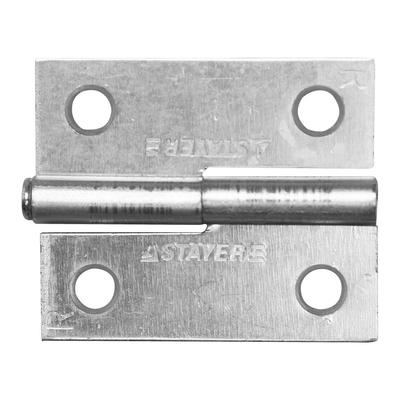 Петля дверная STAYER MASTER, 50 мм, разъемная, правая, цвет белый цинк - Фото 1