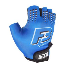 Перчатки велосипедные, размер L, цвет синий Ош