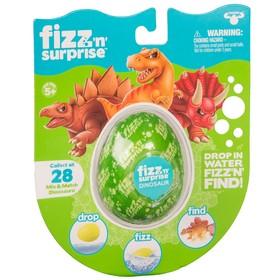 Шипучее яйцо FIZZ N Surprise  «Динозавры»