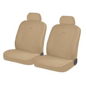 Авточехлы DIRECT FRONT, на передние кресла, бежевый, трикотаж Ош