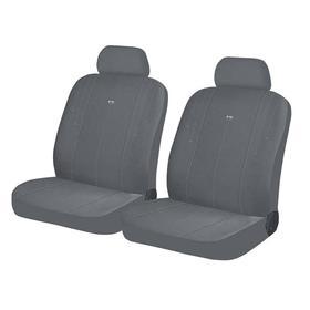 Авточехлы DIRECT FRONT, на передние кресла, серый, трикотаж Ош