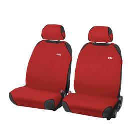 Накидки, на переднее сиденье, PERFECT FRONT, Красный, трикотаж Ош