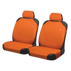 Накидки, на переднее сиденье, PERFECT FRONT, Оранжевый, трикотаж Ош