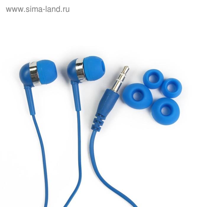 Наушники Human Friends Screamer, вкладыши, 95 дБ/мВт, 32 Ом, кабель 1.2 м, 3.5 мм, синие