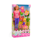 Кукла «Штеффи и Еви» с пони на ферме