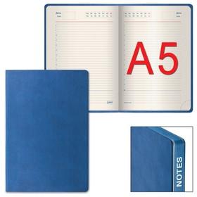 Ежедневник недатированный А5, 160 листов GALANT Bastian, под гладкую кожу, цветной срез