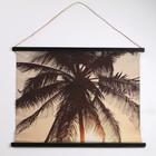 Панно подвесное «Пальма», прямоугольное, 94х73 см