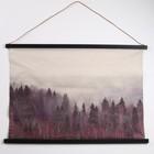 Панно подвесное «Таинственный лес», прямоугольное, 104х73 см