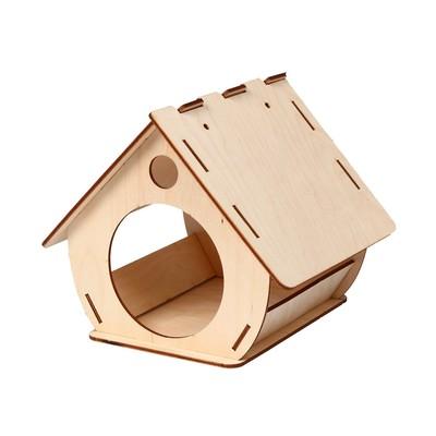 Кормушка для птиц «Бочка», 20 × 19 × 17 см, Greengo - Фото 1