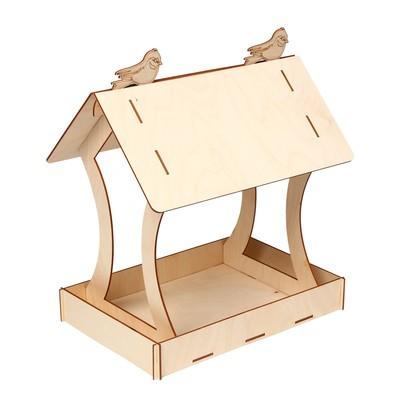 Кормушка для птиц «Птичка», 20 × 30 × 34,5 см - Фото 1