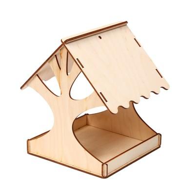 Кормушка для птиц «Дерево», 18 × 16 × 15 см, Greengo - Фото 1