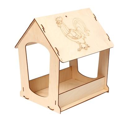 Кормушка для птиц «Петушок», 24 × 30 × 26 см, Greengo - Фото 1