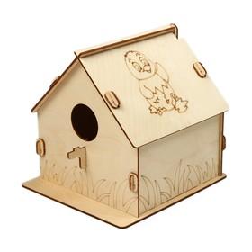Кормушка для птиц «Птенчик», 19.5 × 22 × 22 см, Greengo
