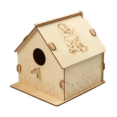 Кормушка для птиц «Птенчик», 19.5 × 22 × 22 см, Greengo - Фото 1