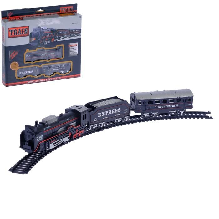"""Железная дорога """"Экспресс рейс"""", работает от батареек"""