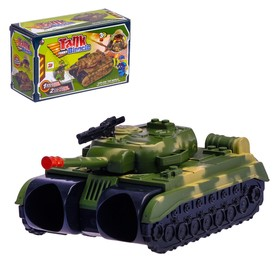 Бинокль «Танк», с ремешком и солдатиками Ош