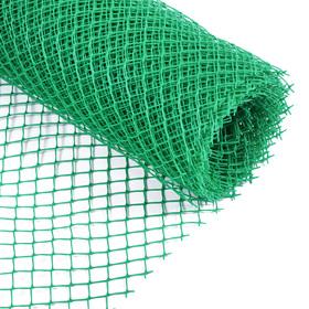 Сетка садовая, 0.5 × 10 м, ячейка 1.5 × 1.5 см, зелёная Ош