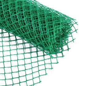 Сетка садовая, 0.5 × 5 м, ячейка 1.5 × 1.5 см, зелёная, Greengo Ош