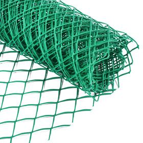 Сетка садовая, 0.5 × 5 м, ячейка 4 × 4 см, зелёная, Greengo Ош