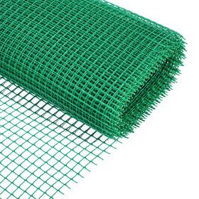 Сетка садовая, 1 × 10 м, ячейка 1.7 × 1.7 см, зелёная Ош