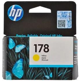 Картридж струйный HP №178 CB320HE желтый для HP C5383/C6383/B8553/D5463 (300стр.)