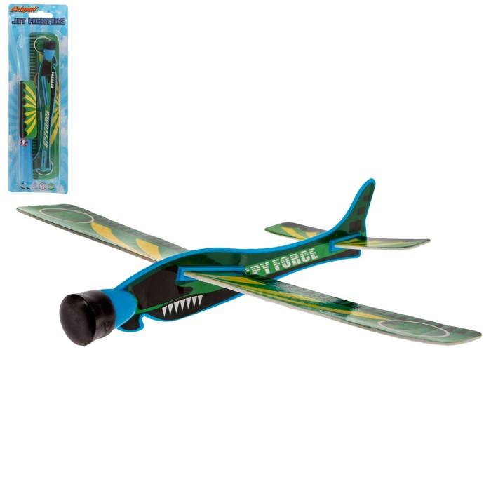 Самолет с запуском Планер, цвета МИКС