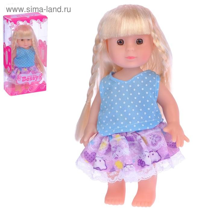 """Кукла """"Лида"""" в платье"""