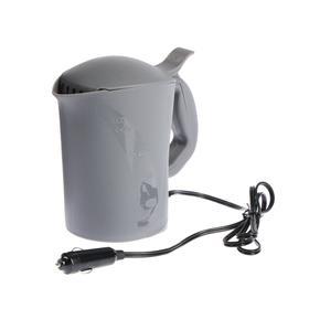 Чайник автомобильный 12 В серый пластик Ош