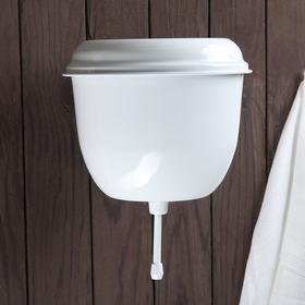 Умывальник с покрытием 2,5 л, цвет белый Ош