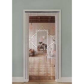 Занавеска 90×175 см 'Ромб', 27 нитей, дерево Ош