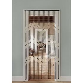 Занавеска декоративная, 90×177 см, 27 нитей дерево Ош