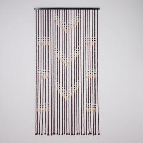 Занавеска декоративная, 90×177 см, 27 нитей, дерево Ош