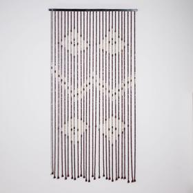 Занавеска декоративная, 90×170 см, 27 нитей, дерево Ош