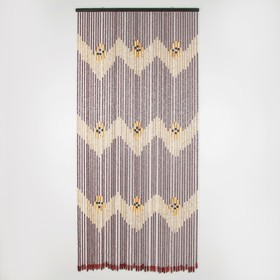 Занавеска декоративная, 90×197 см, 52 нити, дерево Ош