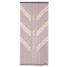 Занавеска декоративная, 90×190 см, 52 нити, дерево Ош