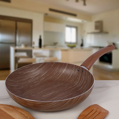 Сковорода глубокая Kantry, d=28 см - Фото 1