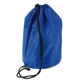 Мешок для обуви и мячей «Стандарт», круглое дно, 360х220 мм, синий Ош
