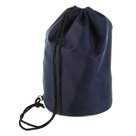 Мешок для обуви и мячей «Стандарт», круглое дно, 360х220 мм, тёмно-синий Ош