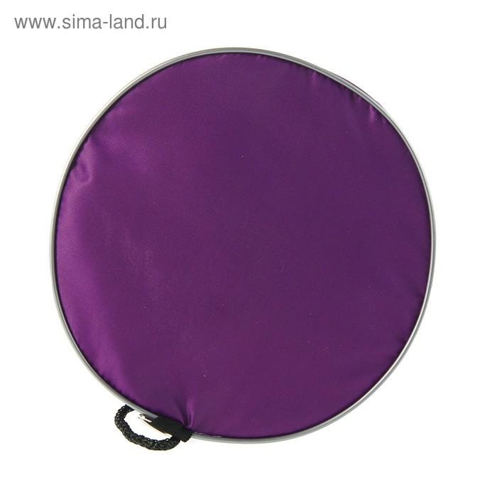 Мешок для обуви и мячей «Стандарт», круглое дно, 360х220 мм, фиолетовый
