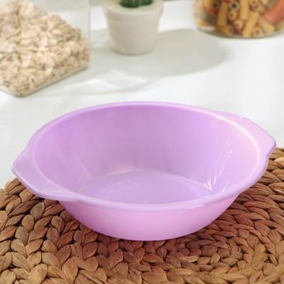 Тарелка «Пикник», 700 мл, цвет МИКС - Фото 1