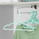 Вешалка-плечики для одежды детская Доляна «Звезда», размер 30-34, цвет МИКС