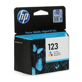 Картридж струйный HP 123 F6V16AE многоцветный для HP DJ 2130 (100стр.)