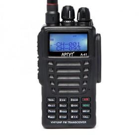 Рация Аргут А-41 new! Двухдиапазонная! IP66 UHF (400 – 520 МГц)  и  VHF (136 - 174 МГц) Ош