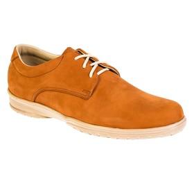 Ботинки мужские, цвет красный, размер 44