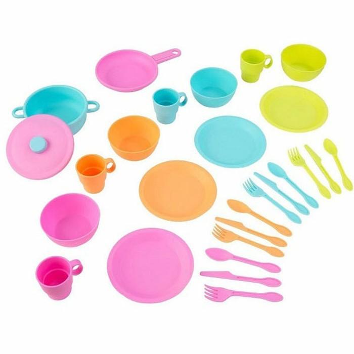 Кухонный игровой набор посуды Делюкс