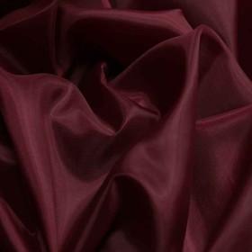 Ткань подкладочная, ширина 150 см, цвет бордо