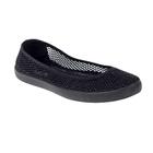 Обувь повседневная (слипоны) женская  RT-01-07-01 цвет чёрный, размер 36