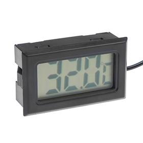 Термометр цифровой, ЖК-экран, провод 1 м Ош