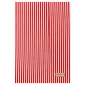 Ткань на клеевой основе «Красные полоски», 21 х 30 см Ош